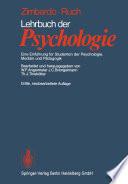 Lehrbuch der Psychologie
