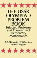 The USSR Olympiad Problem Book
