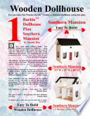 Barbie Dollhouse Plan Southern Mansion : made of 1/2