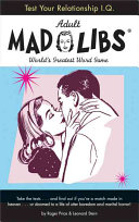 Test Your Relationship I  Q  Mad Libs