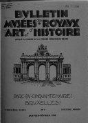 Bulletin Des Musées Royaux D'art Et D'histoire