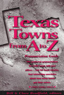 Texas Towns from A to Z