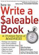 How to Write a Saleable Self help Book