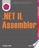 NET IL Assembler