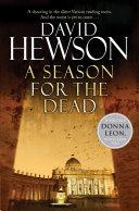 A Season for the Dead The Nic Costa Series David