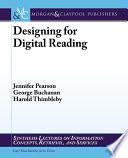 Designing for Digital Reading
