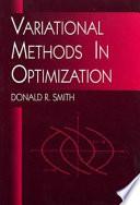 Variational Methods in Optimization