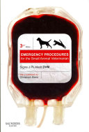 Emergency Procedures for the Small Animal Veterinarian3