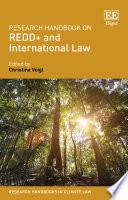 Research Handbook on REDD Plus and International Law