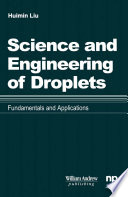Science and Engineering of Droplets