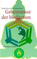 Geheimnisse Der Meditation