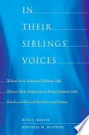 In Their Siblings  Voices