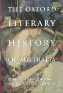 The Oxford Literary History Of Australia