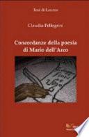 Concordanze della poesia di Mario Dell Arco