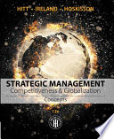 Strategic Management  Concepts  Competitiveness and Globalization