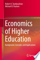 Economics of Higher Education