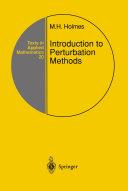 Introduction to Perturbation Methods