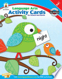 Language Arts Activity Cards for School and Home  Grade 2