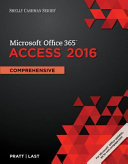 Shelly Cashman Microsoft Office 365 and Access 2016