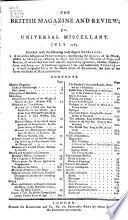 The British Magazine and Review