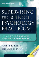 Supervising the School Psychology Practicum