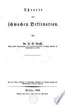 Theorie der schwachen Deklination