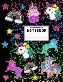 Unicorn Rainbow Composition Notebook