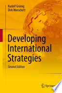 Developing International Strategies