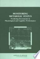 Monitoring Metabolic Status