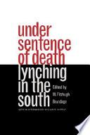 Under Sentence of Death
