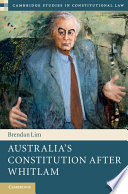 Australia s Constitution after Whitlam