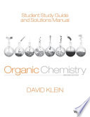 Student Study Guide and Solutions Manual t a Organic Chemistry  2nd Edition