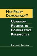 No party Democracy