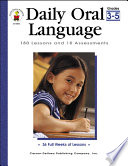 Daily Oral Language  Grades 3   5