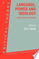 Language, Power and Ideology