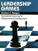 Leadership Games   Experiential Learning For Organization Development