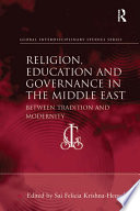 Religion  Education and Governance in the Middle East