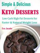 Simple Delicious Keto Desserts