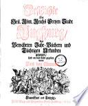 Geschichte Der Heil. Röm. Reichs Freyen Stadt Augspurg