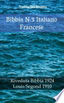 Bibbia N 3 Italiano Francese