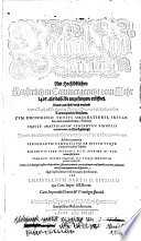 Urtheil und Beschaydt am Hochlöblichen Kayserlichen Cammergericht vom Jahr 1495, als dasselbe angefangen, eröffnet