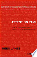 Attention Pays Book PDF