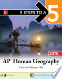 5 Steps to a 5 AP Human Geography 2018 edition