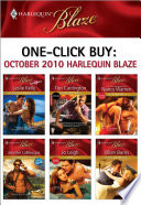 one click buy october 2010 harlequin blaze