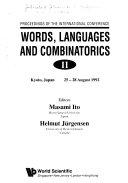 Words  Languages and Combinatorics