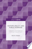 History  Policy and Public Purpose