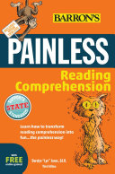 Painless Reading Comprehension, 3rd edition