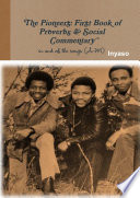 The Pioneers: First Book of Proverbs and Social Commentary in and of the Songs Pdf/ePub eBook