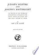Judah s Sceptre and Joseph s Birthright