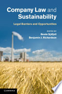 Company Law and Sustainability